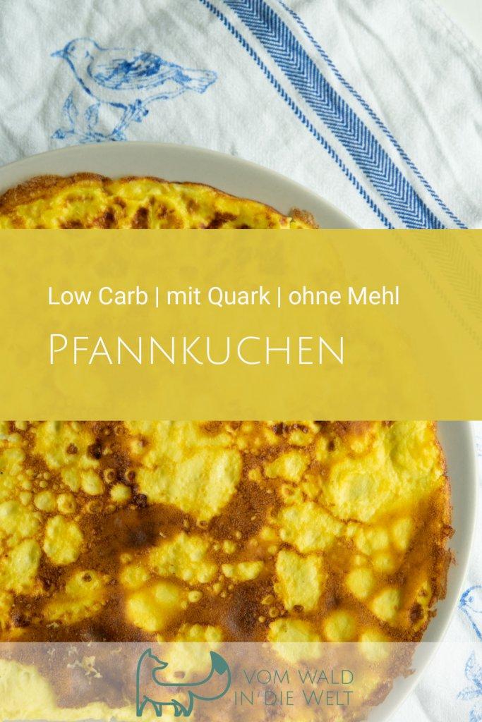 Low Carb: Pfannkuchen, Pancake mit Quark, ohne Mehl
