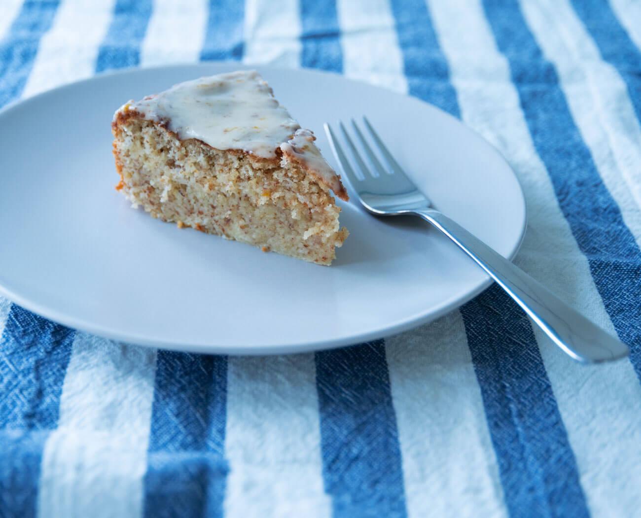 Low Carb: Zitronen-Mandel-Kuchen, zuckerfrei, glutenfrei, ohne Mehl, super saftig